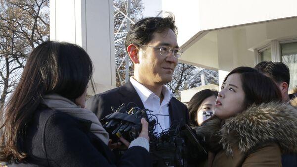 Вице-президент Samsung Electronics Ли Чжэ Ён