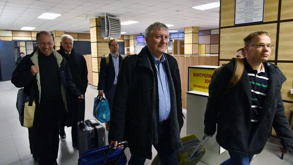 Делегация немецких парламентариев в Крыму