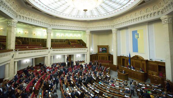 Заседание Верховной рады Украины в Киеве. 6 февраля 2018