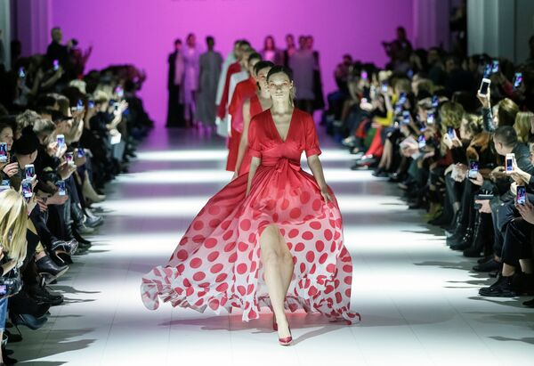 Показ коллекции Larisa Lobanova на Неделе моды в Киеве
