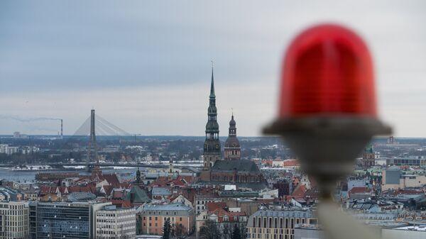 Вид на столицу Латвии Ригу. Архивное фото