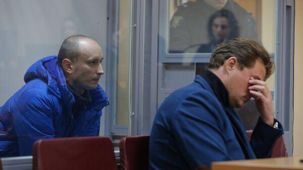 Военнослужащий РФ Александр Баранов, похищенный Службой безопасности Украины в ноябре 2016  в Подольском районном суде Киева. 8 февраля 2018