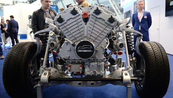 Двигатель для автомобиля высшего класса ФГУП НАМИ, предназначенный для проекта Кортеж