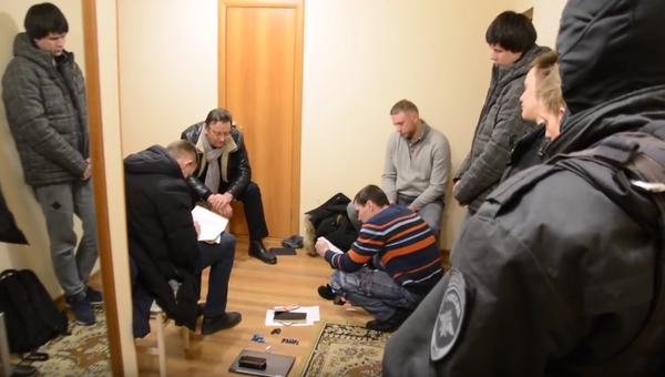 Задержание министра сельского хозяйства Забайкальского края Михаила Кузьминова. 10 февраля 2018