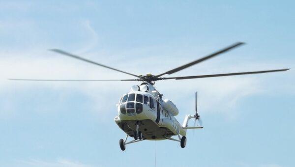 Вертолет Ми-8 авиакомпании Ельцовка. Архивное фото
