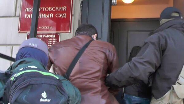 Задержанный в России гражданин Украины Константин Давыденко, подозреваемый в шпионаже. Архивное фото