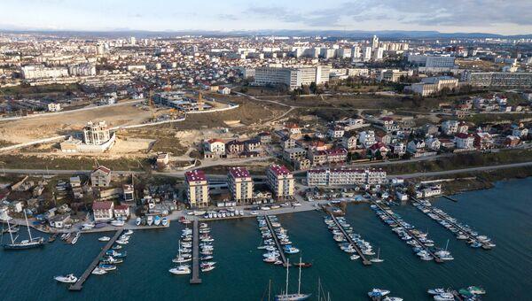 Вид на Стрелецкую бухту в Севастополе. Архивное фото