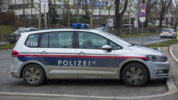 Автомобиль полиции в Вене. Архивное фото