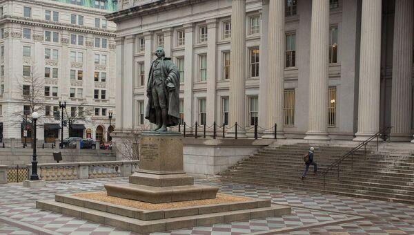 Министерство финансов США в Вашингтоне