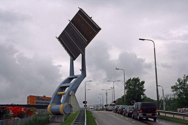 Летающий Разводной мост в Нидерландах