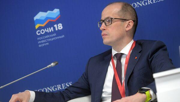 Глава Удмуртской Республики Александр Бречалов на Российском инвестиционном форуме в Сочи. 15 февраля 2018