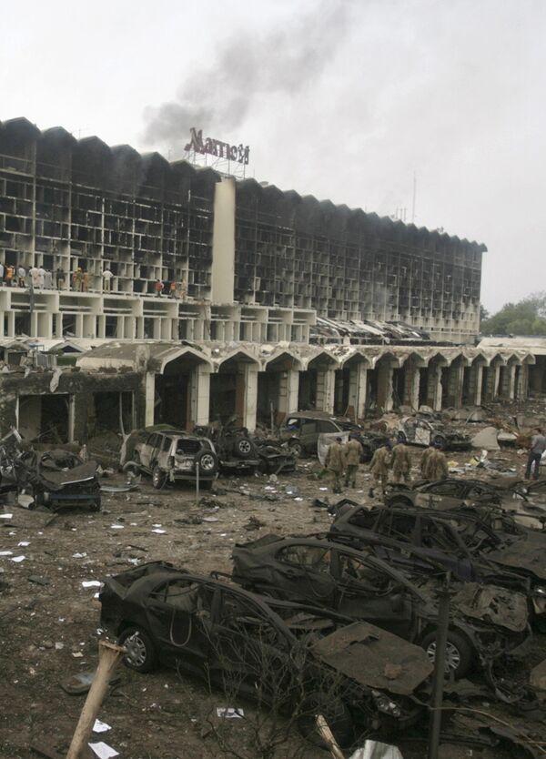 Взрыв в отеле Мариотт в Исламабаде