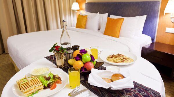 Завтрак в номер в отеле