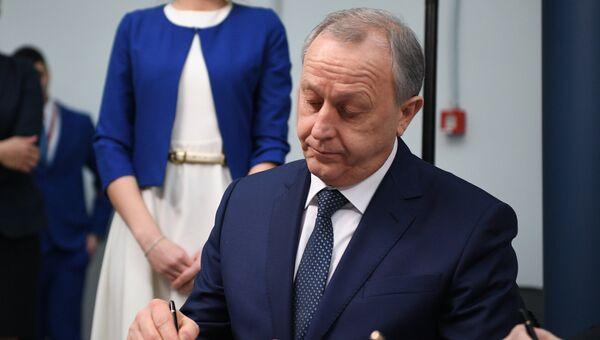 Губернатор Саратовской области Валерий Радаев на Российском инвестиционном форуме в Сочи