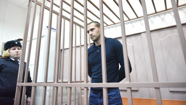 Рассмотрение дела в отношении Александра Ломова, обвиняемого в гибели пешехода. Архивное фото