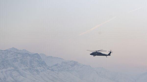 Вертолет ВВС США в Афганистане