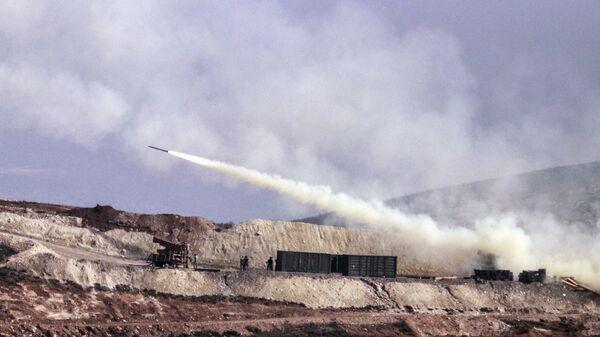 Турецкая артиллерия в Африне. Архивное фото