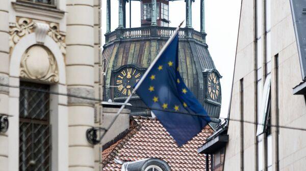 Флаг ЕС в Риге