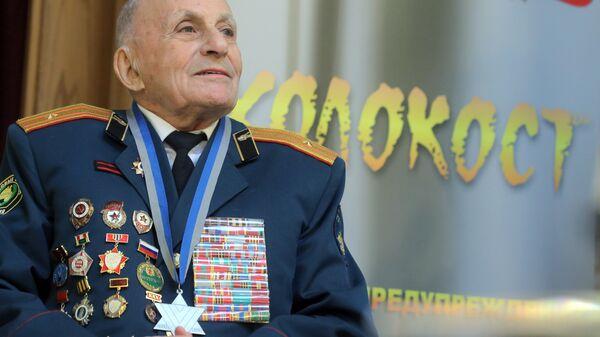 Ветеран Великой Отечественной войны Леонтий Бранд, принимавший участие в освобождении Освенцима в 1945 год