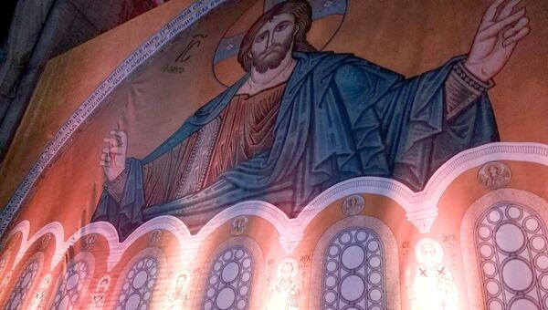 В белградском храме Cвятого Саввы. Архивное фото