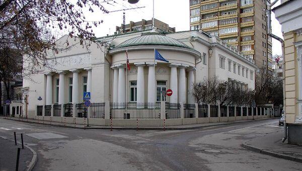 Здание посольства Австрии в Москве. Архивное фото