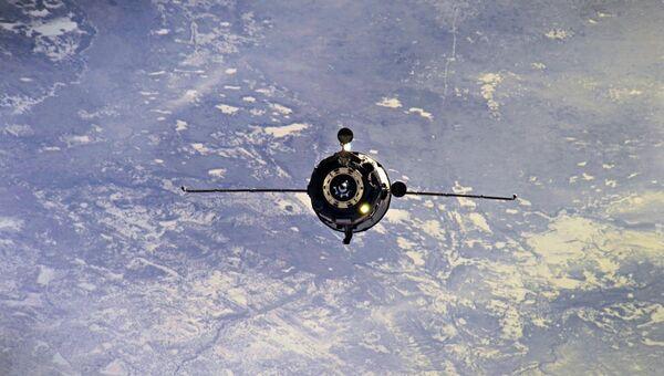 Грузовой космический корабль Прогресс МС-08. 15 февраля 2018 года