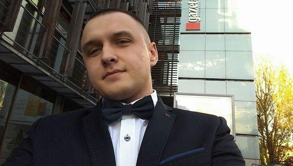 Польский журналист Томаш Мацейчук