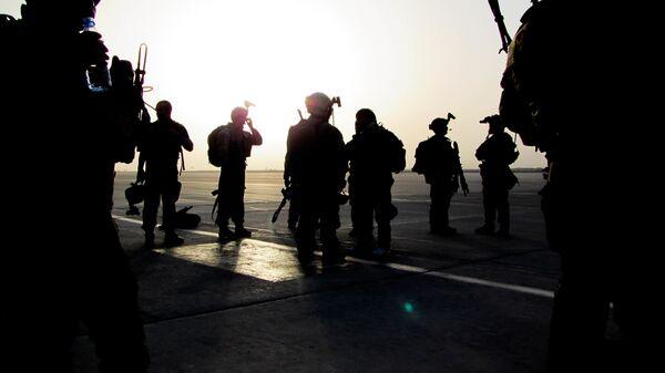 Солдаты спецназа США
