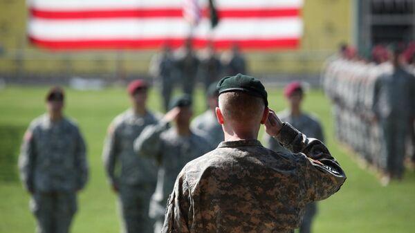 Солдаты спецназа США (зеленые береты)