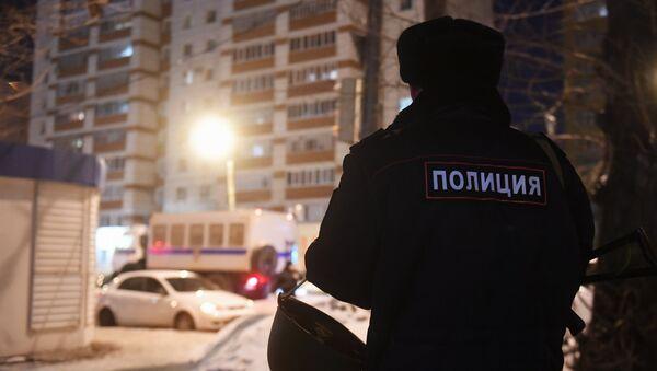Стрельба в многоэтажном доме в Казани. 27.02.18