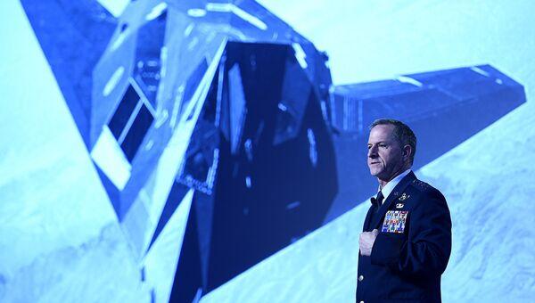 Начальник штаба ВВС США Дэвид Гольдфейн на Симпозиуме Военно-воздушной ассоциации в Орландо, США. Архивное фото