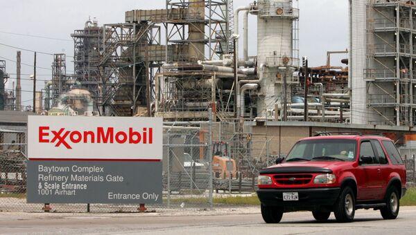 Нефтеперерабатывающий завод ExxonMobil, штат Техас. Архивное фото