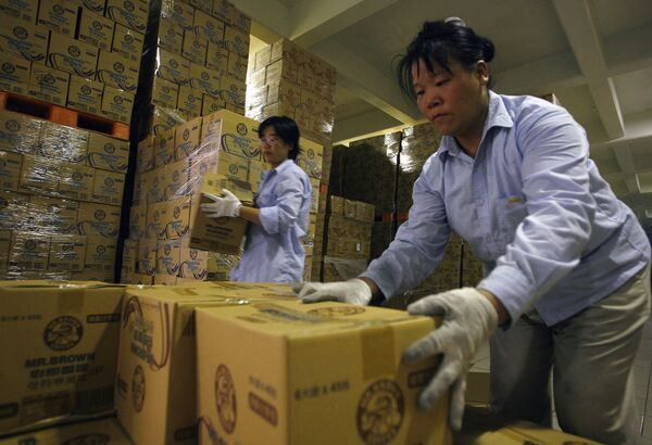 Продукции компании Mr. Brown изъята из продажи в Тайване из-за обнаруженного в них меламина