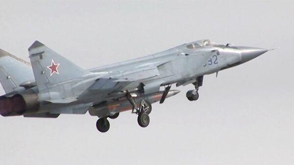 Испытание авиационного ракетного комплекса Кинжал