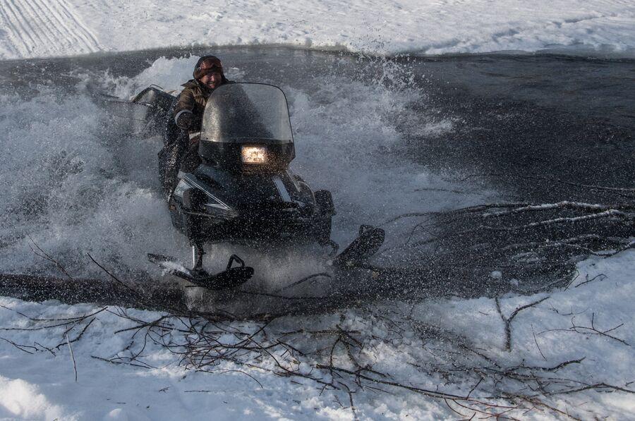 Участковый инспектор государственного природного заповедника «Хакасский» Леонид Майманаков
