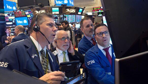 На Нью-Йоркской фондовой бирже. 1 марта 2018