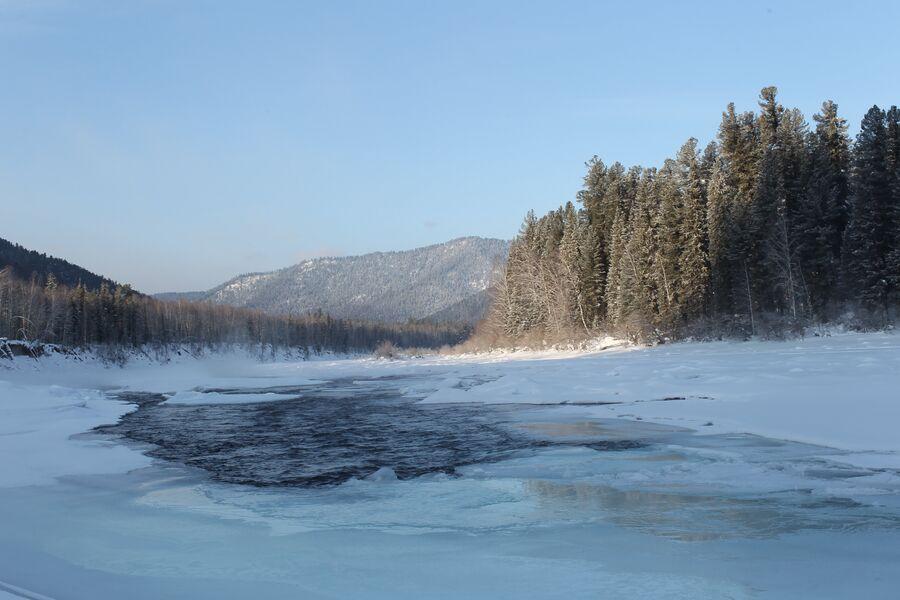Территория государственного природного заповедника Хакасский