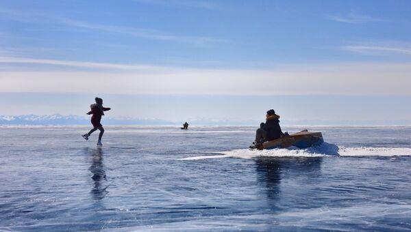 Кадр из фильма Лед