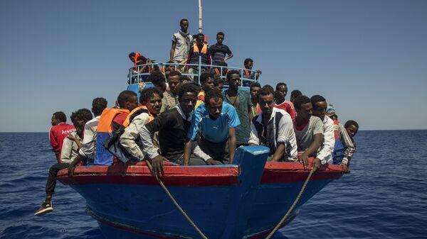 Мигранты из Ливии
