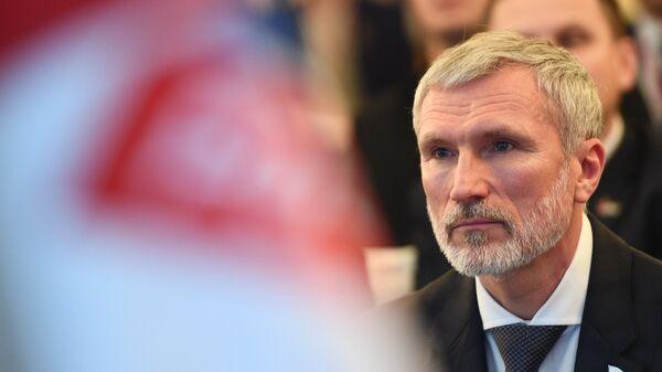 Председатель Всероссийской политической партии Родина Алексей Журавлев