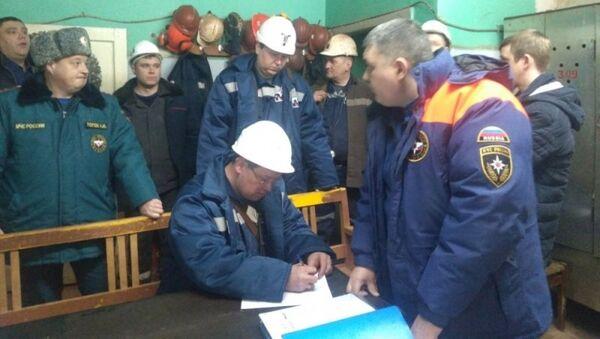 Поисково-спасательная операция на закрытой шахте в городе Североуральск. 5 марта 2018