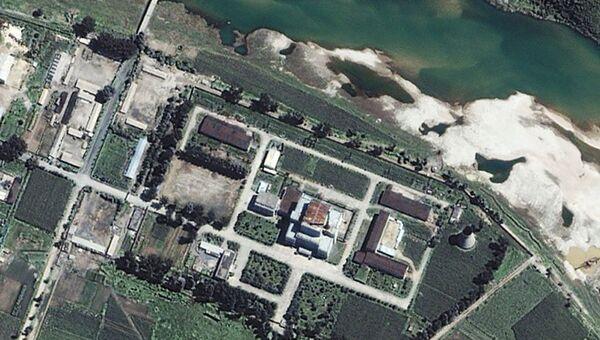 Ядерный научно-исследовательский центр в Йонбёне, КНДР. Архивное фото