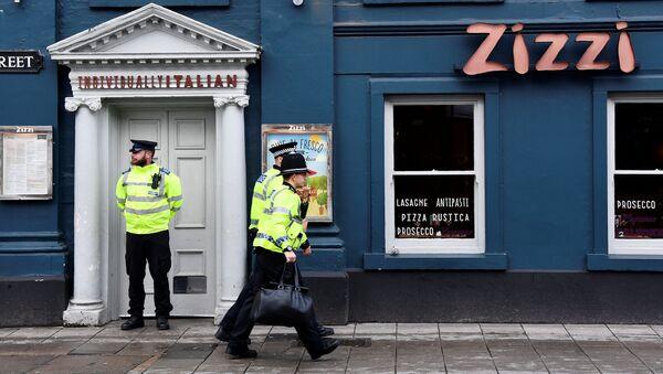Ресторан в Солсбери, который был закрыт после госпитализации бывшего полковника ГРУ Сергея Скрипаля. 6 марта 2018
