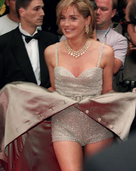 Американская актриса Шэрон Стоун. 26 мая 1995 года
