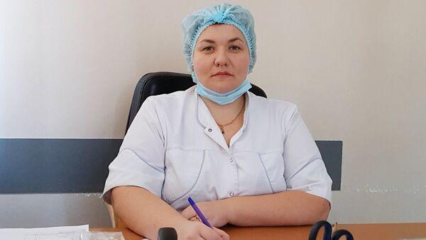 Заведующая гинекологическим отделением, врач высшей категории, акушер-гинеколог Юлия Троценко