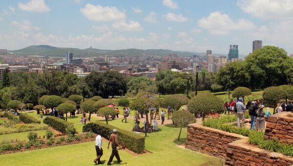 Вид города Претория в ЮАР. Архивное фото