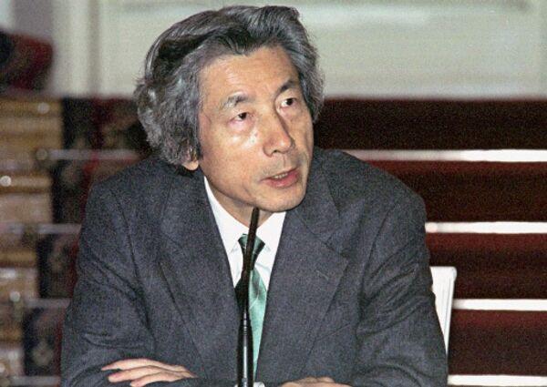 Премьер-министр Японии Дзюнъитиро Коидзуми. Архив