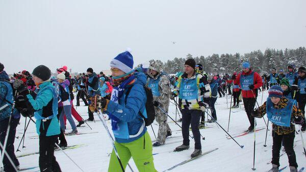 Лыжня дружбы в Раякоски