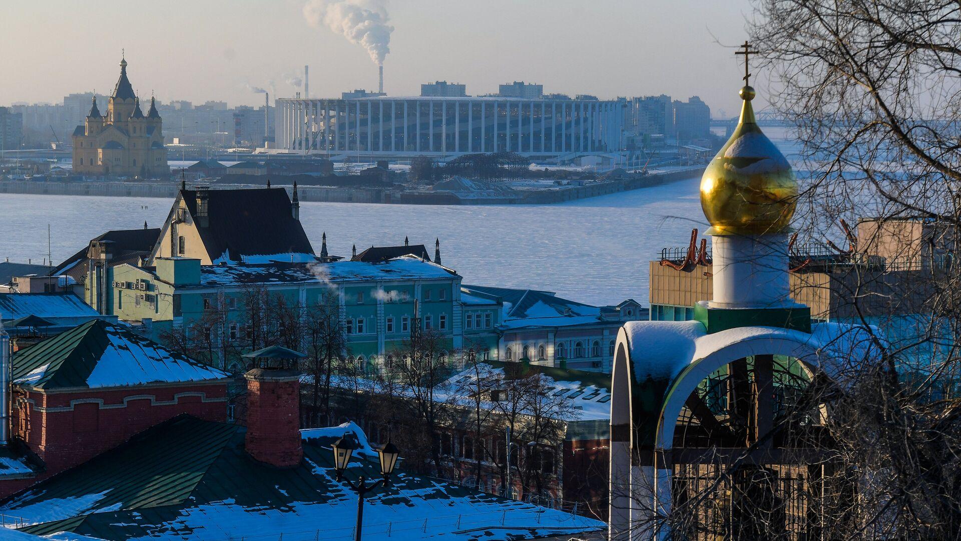 Вид на Нижний Новгород - РИА Новости, 1920, 13.04.2021