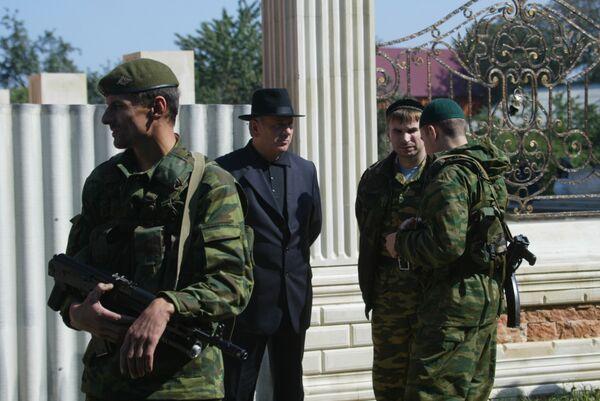 В Гудермесе прошли похороны Руслана Ямадаева